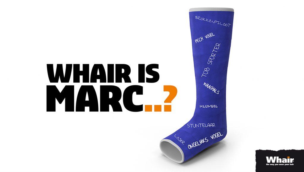 Marc (Whair Hattem) tijdelijk afwezig..!