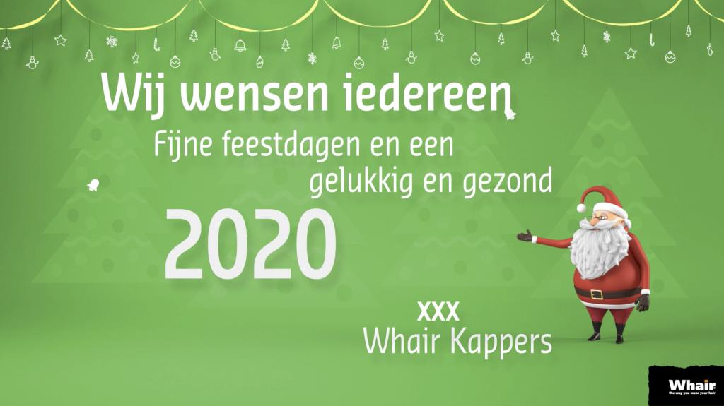 Het team van Whair Kappers wenst u prettige feestdagen..!