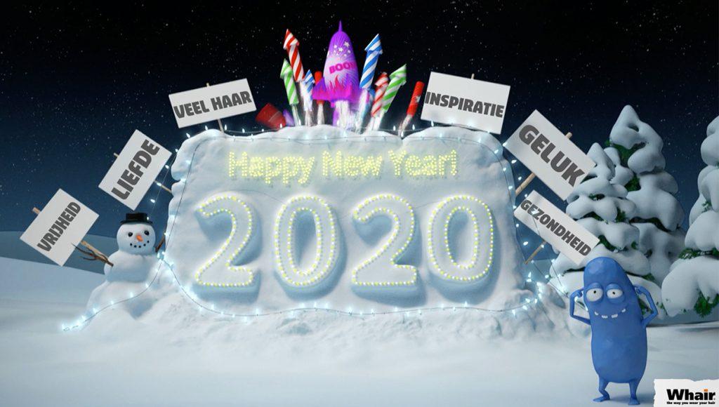 Whair kappers wenst u een fantastisch 2020..!