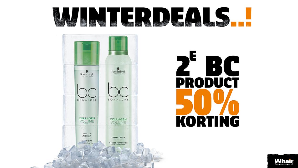 Winterdeals Whair Kappers Hattem Zwolle stadshagen bonacure Schwarzkopf